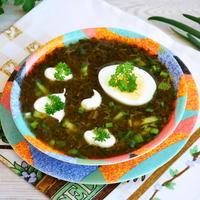 Суп из щавеля (холодный)