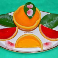 Желе в апельсинах (для взрослых)