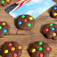 Американское мягкое печенье с M&M's. Очень шоколадное! Настоящая находка для сладкоежек!