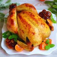 Курица с мандаринами. Бюджетное новогоднее блюдо, которое приятно удивит своим вкусом