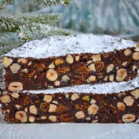 Итальянский рождественский пирог Панфорте. Передать вкус словами невозможно!