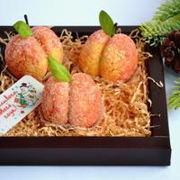 """Пирожное """"Заснеженные персики"""""""