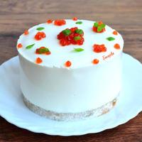 Рыбный торт по моему авторскому рецепту. Настоящая находка!