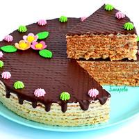 """Любимый вафельный торт из серии """"Гости на пороге"""""""