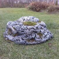 Мастер-класс: Лёгкий камень своими руками - полезное украшение для сада
