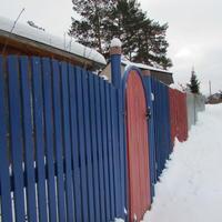 Зимняя прогулка на дачу