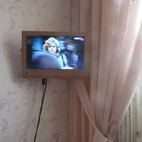 Телевизор цвета беж