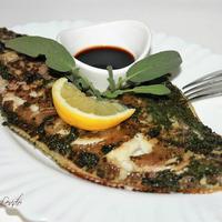 Рыба в зелёном маринаде