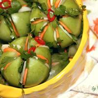 Зелёные маринованные помидоры