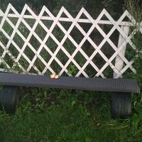 Удобная скамейка для всей семейки