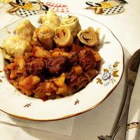 Штрудли с мясом, картошкой и капустой. Вкусно и сытно
