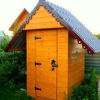 Реставрация старенького дачного туалета, или Новая жизнь старых вещей...