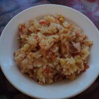 """Рис с овощами - """"хоть горячее, хоть салат"""", или Как я училась у Дарьи Донцовой-2"""