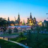 Парк «Зарядье» в Москве - уникальный объект современной городской среды