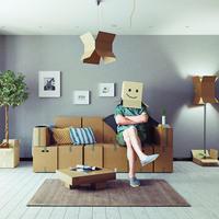 Как использовать ненужный картон и бумагу: необычная мебель своими руками