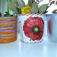 Кашпо для комнатных цветов из пластиковых ведёрок