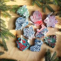Как сделать фантастически красивые пряничные игрушки. Ваша елка будет самой красивой!