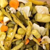 Острый таркинский перец с капустой: заготовка на зиму