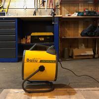 Как быстро обогреть гараж: обзор тепловой пушки