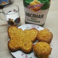 Морковно-овсяные кексы