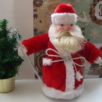 Реставрируем старого советского Деда Мороза