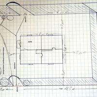 План декоративно-хвойной композиции