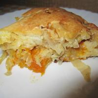 Пирог с морковью и капустой