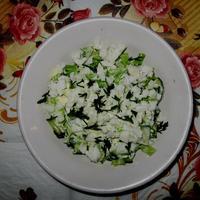 Зеленый салат по-махеевски