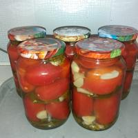 Сладкие и ароматные маринованные помидорки - всегда к столу!
