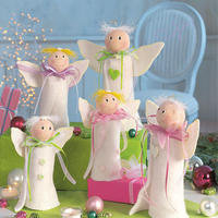 Рождественские ангелы. Сказка своими руками