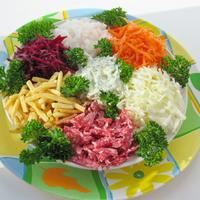 """Сезонный салат """"Краски осени"""" - яркий и нарядный!"""
