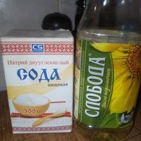 Сода с маслом спешат на помощь!