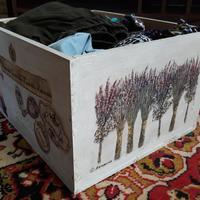 Как сделать из деревянных ящиков красивые контейнеры для хранения домашних мелочей