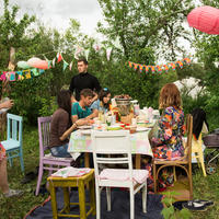 Садовая вечеринка для друзей - отмечаем День Рождения на дачке (делимся опытом;-) )