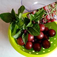 Томат Сладкая гроздь шоколадная - находка для гурмана