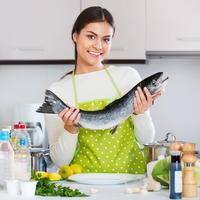 Как похудеть без диет после сытных праздников, или Ешьте рыбу и худейте