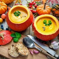 Три восхитительных рецепта супа из тыквы, или Любовь с первой ложки