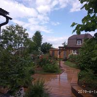 Как мы благоустраивали свой двор, или Деревянный настил - это чистота и уют