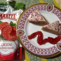 """Блинный мини-тортик с малиновым джемом """"Махеевъ"""""""