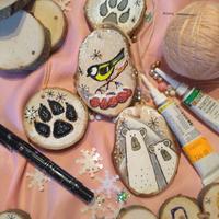Мастер-класс «Ёлочные игрушки из природных материалов»