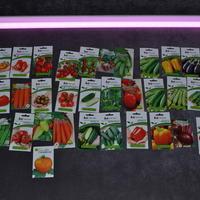 Подсветка томатов Котя F1, Царское искушение F1 и других семян