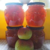 С пектином яблочное варенье - просто загляденье