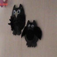 """Украшение на стену """"Совушки"""""""
