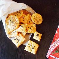 Несладкое сырное печенье на пикник