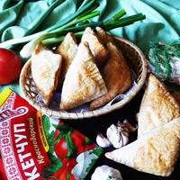 Пирожки с капустой для пикника