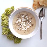Суп-пюре из цветной капусты. Готовится из самых простых продуктов