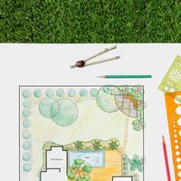 Сам себе ландшафтный дизайнер. Как составить план посадок и схему полива