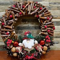 Рождественский венок из виноградной лозы. Мастер-класс к празднику
