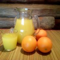 Сок из замороженных апельсинов. Рецепт вкуснейшего напитка