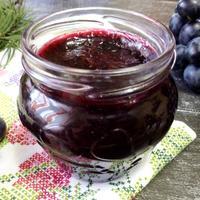 Джем из винограда и черноплодной рябины
